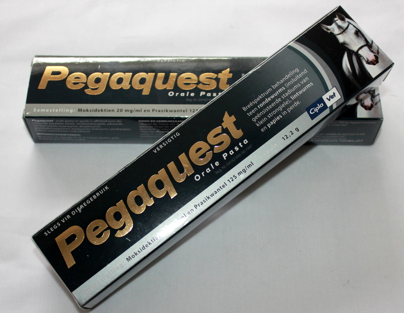 Pegaquest paste for horses