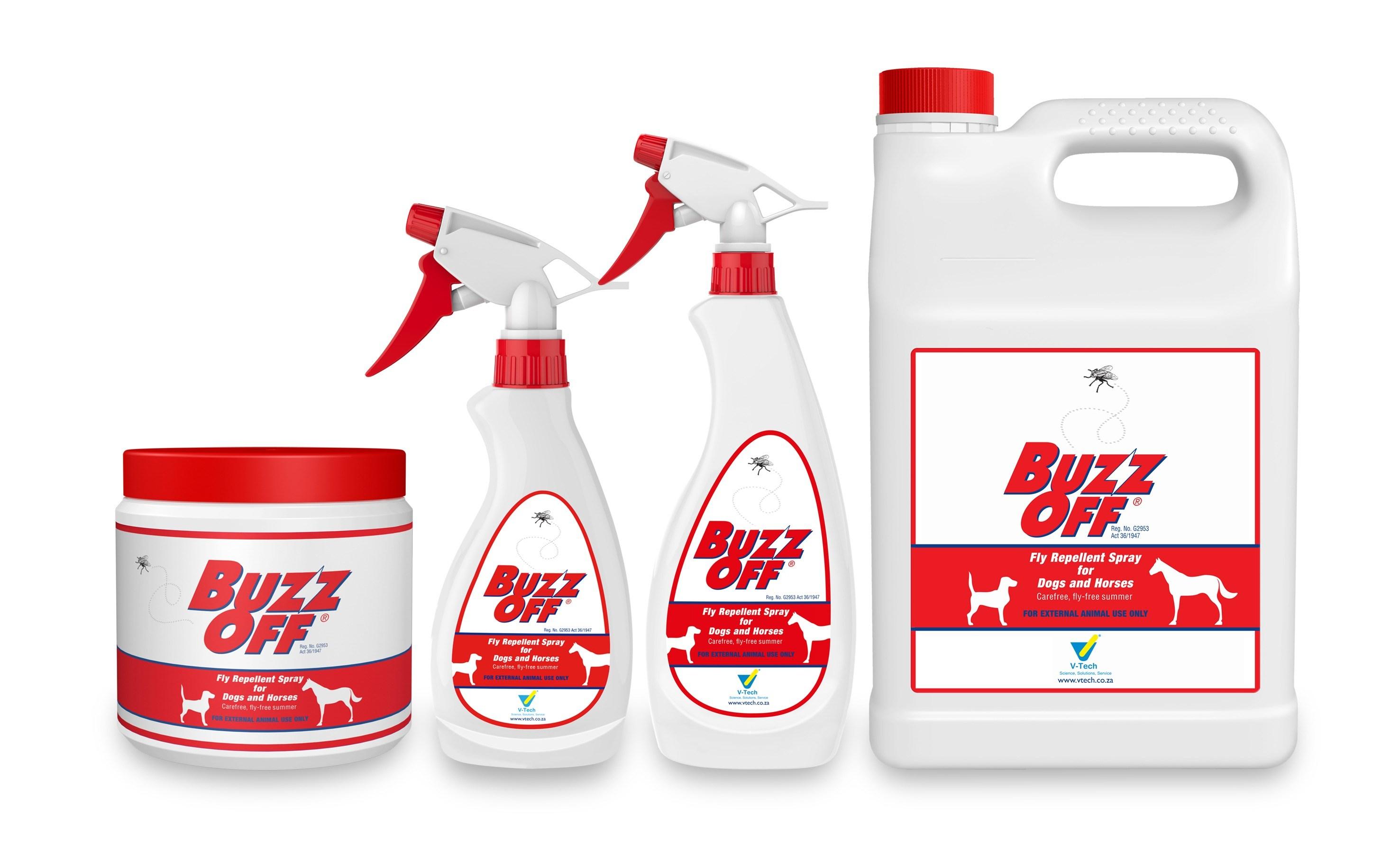 buzz off fly spray assagay feeds