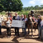 Assagay feeds horse hay SARDA durban disabled riding